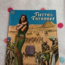 Cine: REVISTA PARA MAYORES CINECOLOR TIERRA DE FARAONES. Lote 182297198