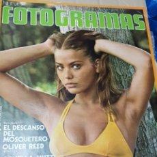 Cine: LOTE ANTIGUAS REVISTAS FOTOGRAMAS. Lote 182303311