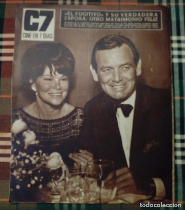 Cine: REVISTA C7 - cine en 7 dias 5 noviembre 1966 num. 291 - mirella maravidi - Foto 2 - 182353437