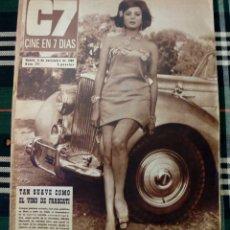 Cine: REVISTA C7 - CINE EN 7 DIAS 5 NOVIEMBRE 1966 NUM. 291 - MIRELLA MARAVIDI. Lote 182353437