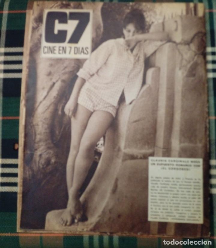 Cine: REVISTA C7 -cine en 7 dias . 22 octubre 1966 num.289 - greta gustavson . greta garbo - Foto 2 - 182355733