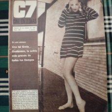 Cine: REVISTA C7 -CINE EN 7 DIAS . 22 OCTUBRE 1966 NUM.289 - GRETA GUSTAVSON . GRETA GARBO. Lote 182355733