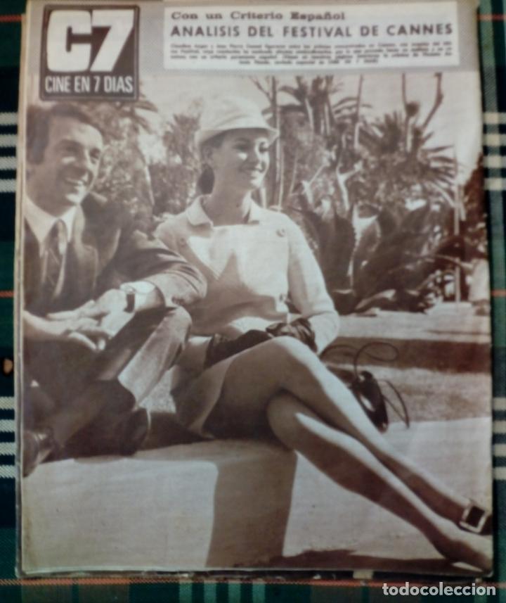 Cine: REVISTA C7 - cine en 7 dias . 27 mayo 1967 , num.320 - claudia cardinale - Foto 2 - 182356027