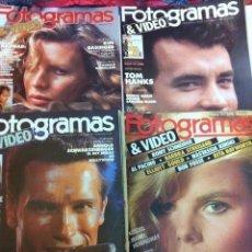 Cine: FOTOGRAMAS- LOTE DE 10 -AÑOS 84/90. Lote 182377038