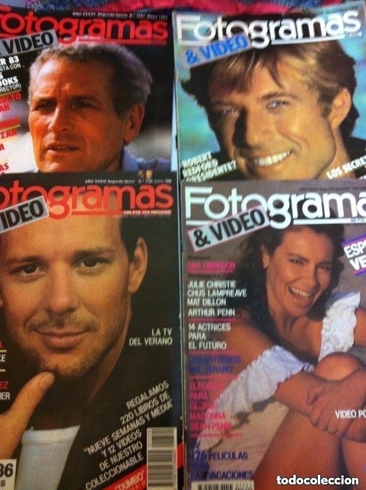 Cine: FOTOGRAMAS- lote de 10 -años 84/90 - Foto 2 - 182377038