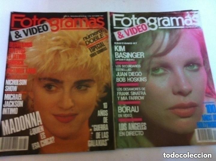 Cine: FOTOGRAMAS- lote de 10 -años 84/90 - Foto 3 - 182377038