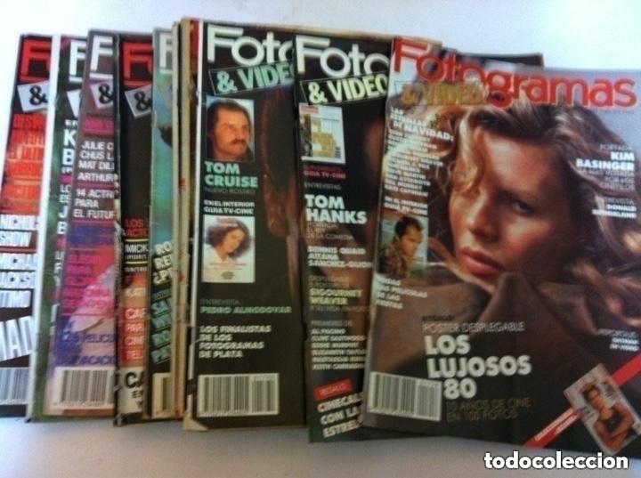 Cine: FOTOGRAMAS- lote de 10 -años 84/90 - Foto 4 - 182377038