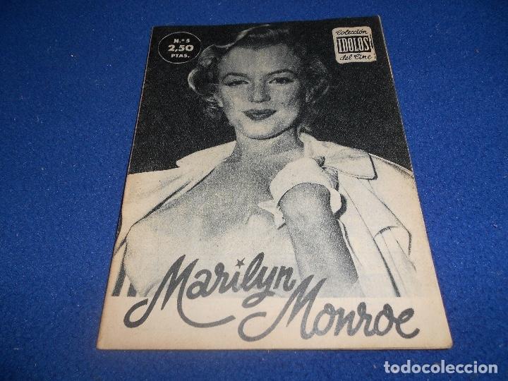 COLECCIÓN IDOLOS DEL CINE Nº 5 MARILYN MONROE 2,50 PESETAS (Cine - Revistas - Otros)