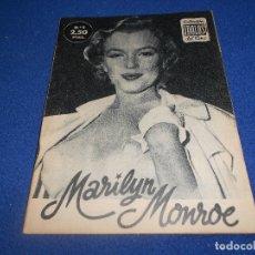 Cine: COLECCIÓN IDOLOS DEL CINE Nº 5 MARILYN MONROE 2,50 PESETAS. Lote 182461616