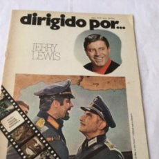 Cine: DIRIGIDO POR - JERRY LEWIS - NUM.6. Lote 182499968