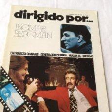 Cine: DIRIGIDO POR - INGMAR BERGMAN - NUM.29. Lote 182500057