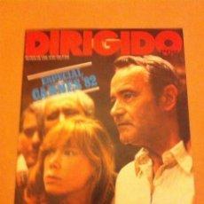 Cine: DIRIGIDO POR (CANNES-82. Lote 182500317