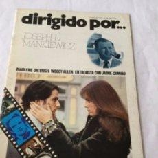 Cine: DIRIGIDO POR - JOSEPH L. MANKIEWICZ - NUM.10. Lote 182500411