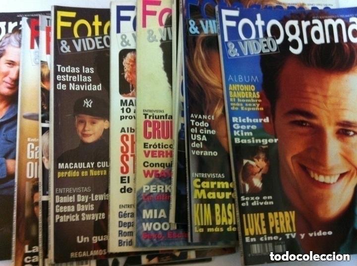 FOTOGRAMAS - 10 EJEMPLARES - AÑOS 92/93 (Cine - Revistas - Fotogramas)