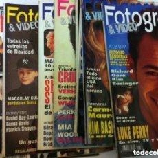 Cine: FOTOGRAMAS - 10 EJEMPLARES - AÑOS 92/93. Lote 182500633
