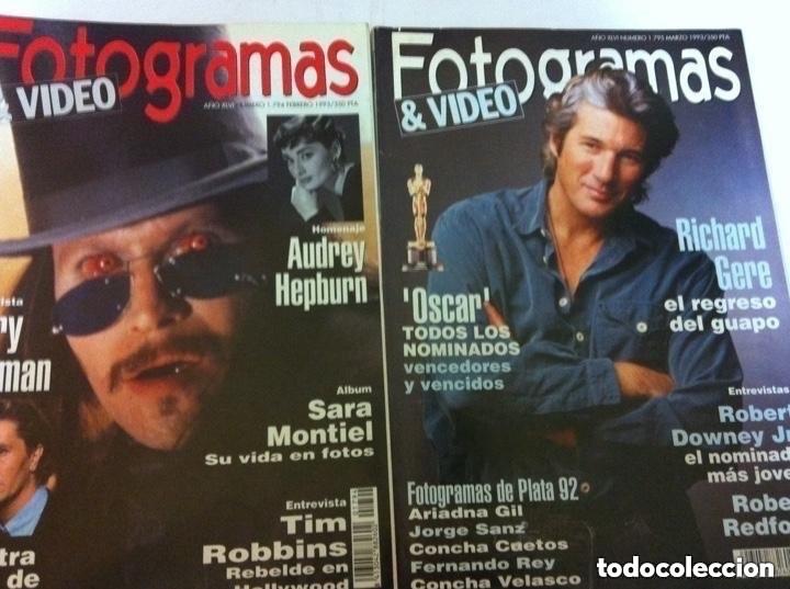 Cine: fotogramas - 10 ejemplares - años 92/93 - Foto 4 - 182500633