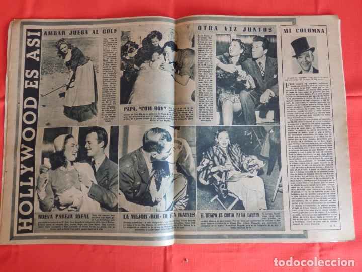 Cine: Juanita Reina, revista primer plano, la lola se fué a los puertos, nº 344 1947 - Foto 2 - 182517976