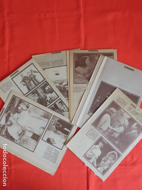 Cine: Fotogramas lote 6 album marlon brando Shirley Temple Cary Grant Greta Garbo Elvis Presley LanaTarner - Foto 2 - 182521050