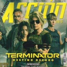 Cine: ACCION N. 1911 NOVIEMBRE 2019 - EN PORTADA: TERMINATOR, DESTINO OSCURO (NUEVA). Lote 182598813