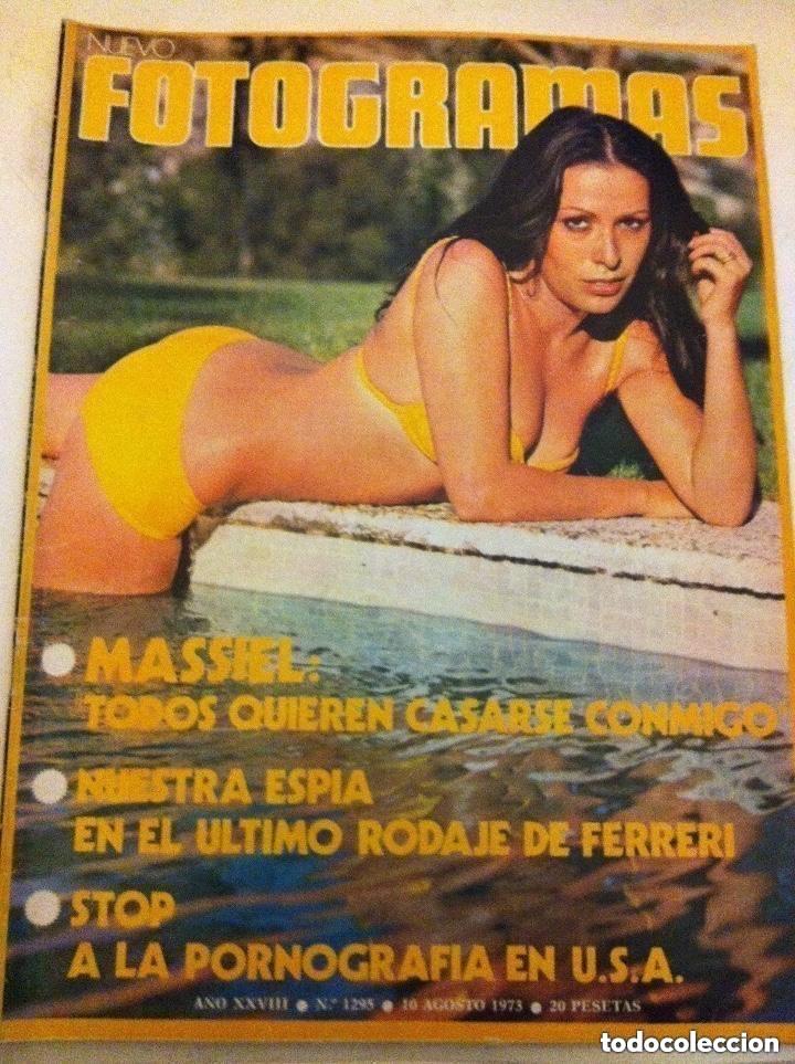 FOTOGRAMAS -Nº. 1295- MASSIE (Cine - Revistas - Fotogramas)