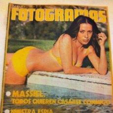 Cine: FOTOGRAMAS -Nº. 1295- MASSIE. Lote 182671385