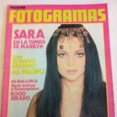 Cine: FOTOGRAMAS - Nº. 1257 - AÑO 1972- MUY BIEN CONSERVADO. Lote 182671648
