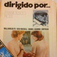 Cine: DIRIGIDO POR - LOTE 20 EJEMPLARES - MUY BIEN CONSERVADOS. Lote 182674100