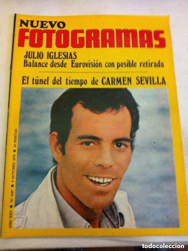 FOTOGRAMAS -Nº. 1147- IGLESIAS (Cine - Revistas - Fotogramas)