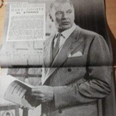 Cine: GARY COOPER. REVISTA IMAGENES. 1959. Lote 182781800