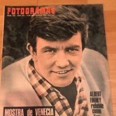 Cine: FOTOGRAMAS SEPTIEMBRE 1966.ALBERT FINNEY.MARTINE BESWICK CHICA BOND.FESTIVAL DE VENECIA.KARTUM. Lote 182835991