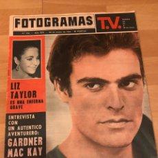 Cine: FOTOGRAMAS MAYO 1964.ANDRE LAWRENCE.ELIZABETH TAYLOR.GARDNER MAC KAY.CANNES 1964. Lote 182836727
