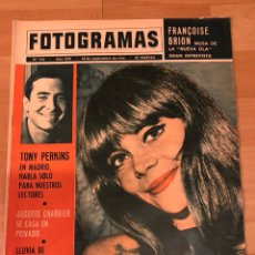 Cine: FOTOGRAMAS SEPTIEMBRE 1964.FRANCOISE BRION.GIULIETTA MASINA.ANTHONY PERKINS.BOLIGRAFO BIC. Lote 182837381