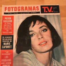 Cine: FOTOGRAMAS MAYO 1964.MARIE LAFORET.PETER SELLERS.LOS BEATLES.MINA.LA CAÍDA DEL IMPERIO ROMANO. Lote 182837961