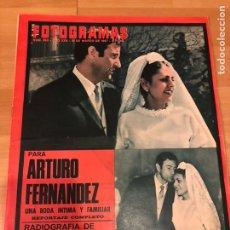 Cine: FOTOGRAMAS MARZO 1967.ARTURO FERNÁNDEZ.LOLA FLORES.GINA LOLLOBRIGIDA.JULIAN MATEOS.LOS BRAVOS. Lote 182838543