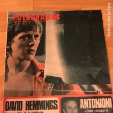 Cine: FOTOGRAMAS MAYO 1967.DAVID HEMMINGS.SAMMY DAVIS.VIVECA LINDFORS.ANTONIONI.ROCK HUDSON. Lote 182839455