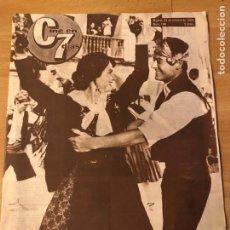 Cine: CINE EN 7 DÍAS OCTUBRE 1964.NOBLEZA BATURRA VICENTE PARRA.RITA HAYWORTH.ANTHONY PERKINS. Lote 182848413