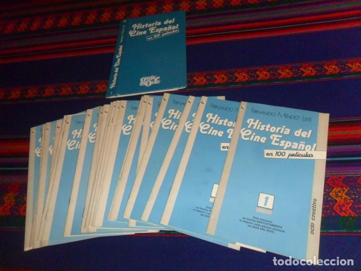 Cine: LA GRAN HISTORIA DEL CINE DE TERENCI MOIX 70 NºS CARPETA. REGALO HISTORIA CINE ESPAÑOL GUÍA DEL OCIO - Foto 2 - 11291958