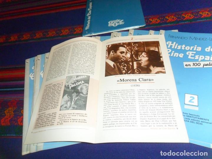 Cine: LA GRAN HISTORIA DEL CINE DE TERENCI MOIX 70 NºS CARPETA. REGALO HISTORIA CINE ESPAÑOL GUÍA DEL OCIO - Foto 3 - 11291958
