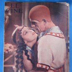 Cine: REVISTA CINEMATOGRÁFICA EL CINE. BORIS KARLOFF, CLARA BOW. 1933.. Lote 182894177