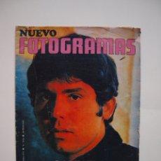 Cine: NUEVO FOTOGRAMAS Nº 1114 - RAPHAEL: CANTARÉ EN CATALÁN - FEBRERO 1970. Lote 182898971