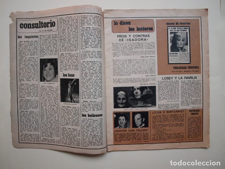 Cine: NUEVO FOTOGRAMAS Nº 1114 - RAPHAEL: CANTARÉ EN CATALÁN - FEBRERO 1970 - Foto 2 - 182898971