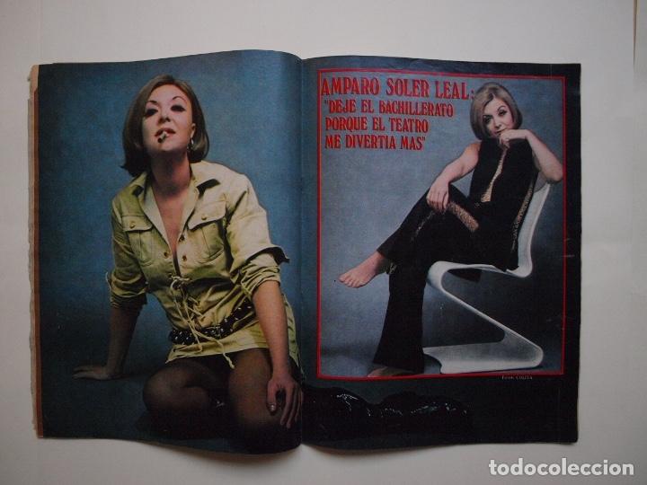 Cine: NUEVO FOTOGRAMAS Nº 1114 - RAPHAEL: CANTARÉ EN CATALÁN - FEBRERO 1970 - Foto 3 - 182898971
