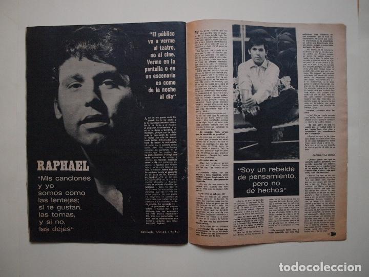 Cine: NUEVO FOTOGRAMAS Nº 1114 - RAPHAEL: CANTARÉ EN CATALÁN - FEBRERO 1970 - Foto 4 - 182898971