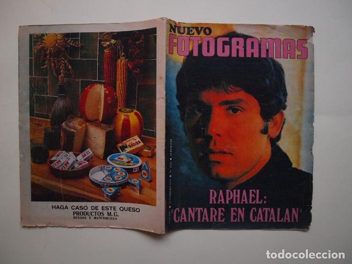 Cine: NUEVO FOTOGRAMAS Nº 1114 - RAPHAEL: CANTARÉ EN CATALÁN - FEBRERO 1970 - Foto 6 - 182898971