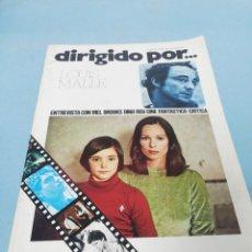 Cine: REVISTA DIRIGIDO POR... NÚMERO 30. 1976.. Lote 182950346