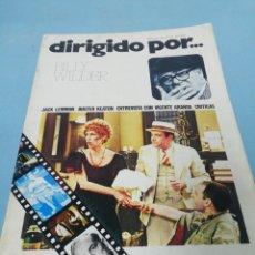 Cine: REVISTA DIRIGIDO POR... NÚMERO 21. 1975.. Lote 182950427