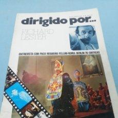 Cine: REVISTA DIRIGIDO POR... NÚMERO 35. 1976.. Lote 182950506