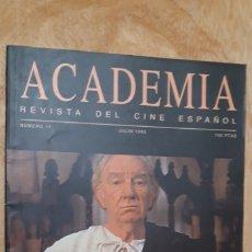 Cine: 1 REVISTA DE ** ACADEMIA DE CINE ** AÑO 1995 JULIO N. 11 . Lote 183258262