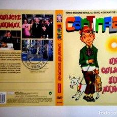 Cine: CARÁTULA CANTINFLAS UN QUIJOTE SIN MANCHA ( DVD ). Lote 183267453