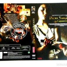 Cine: CARÁTULA PACTO SANGRIENTO ( DVD ). Lote 183267691